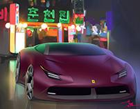 Ferrari Renderings