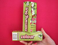 Liqui-Fruit 'Nothing But' Typography