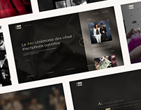 Redesign French Movie Award Ceremony