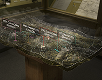 Vimy Ridge Interactive Exhibit