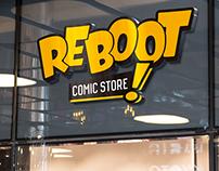 Reboot Comic Store - Rebranding