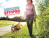 Effipro, Contra las Pulgas