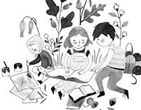 Creative Family Book Illustrations