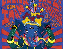 Valle Inquietante poster - San Luis