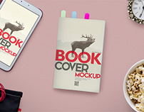 Book PSD Mockup and Hero Header Generator Vol 5
