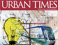 Urban Times Magazine Design & Layout 2007-2010