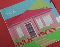 The amazing foldable house/ A incrível casa dobrável