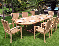 Why Choosing Teak Wood Furniture for Your Outdoor Area?