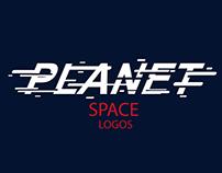 PLANET SPACE LOGOS