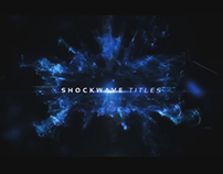 Shockwave Opener - After Effects Template Videohive