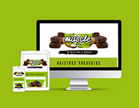 MUSCLE SNACK - Web development and design