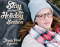 Holiday Greetings : Jonas Paul Eyewear