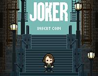 Joker - Animated 8-bit Poster