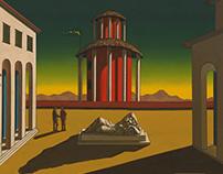 Giorgio de Chirico - Animated paintings