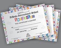 Certificates: Spellathon