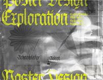 Fraktine Typeface - Poster Design Exploration