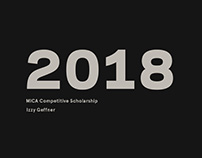 Competitive Scholarship 2018