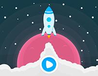 Spaceshock Mobile Game UI