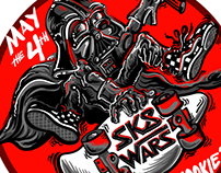 "SK8 WARS: MAY THE 4TH ""OFF THE WOOKIE"""