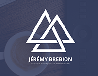 Jérémy Brebion Website