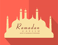 month of blessing ramadan template