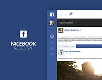 Facebook Concept Redesign