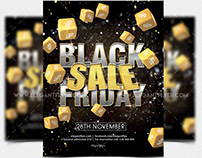 Black Friday Sale – Free PSD Flyer Template