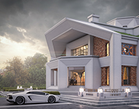 Art Deco style mansion