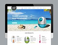 Godrej Aer- Website Redesign