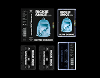 RICKIE SNICE - OLTRE OCEANO — MUSIC COVER & PACKAGING