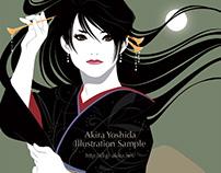 """""""Shimadzu Aya's man's song and female song"""" CD jacket"""