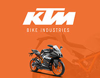 UX Design for Sports bike KTM Webview