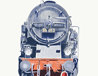 Portrait of German Steam Engine Class 95