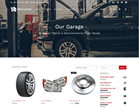 Mechanic WordPress Theme - Shop and eCommerce