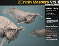ZBrush Masters Vol.1 Tutorial series