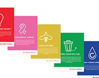 Nonprofit Icons & Posters Design