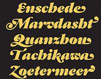 Gastromond Typeface Family