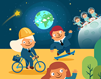 Animated Explainer Video – Climate Change