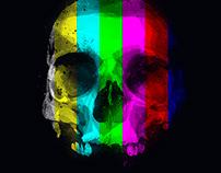 Testcard Skull