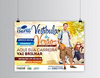 Design de Peça para Campanha do Vestibular Isepro 2016