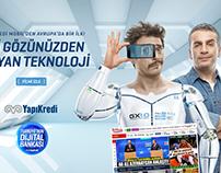 """""""Yapı Kredi Gary Göz ID"""" Html5 Rich Media"""