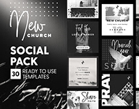 New Church - 4x4 Social Pack