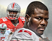 Ohio State - 2015 Football Schedule Poster