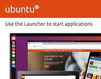 Ubuntu App Launcher UI