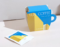 YUN COFFEE | DRIP COFFEE BAG PACKAGING DESIGN