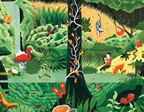 Langøra Kaffebrenneri Mural
