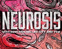 Neurosis with Kowloon Walled City and YOB - Berlin 2019