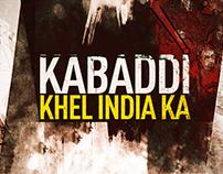 Kabaddi- Khel India Ka