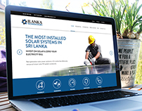 Web Design for JLanka Technologies