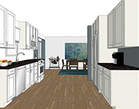 Residential Kitchen Visualizations